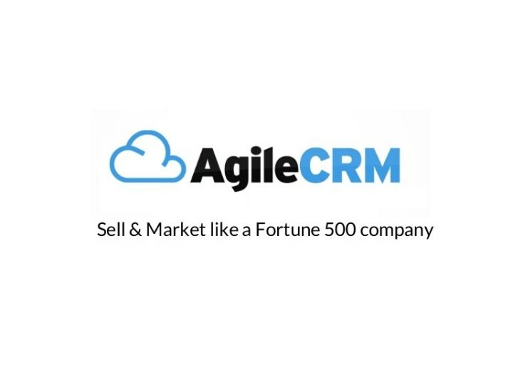 Agile CRM, logiciel CRM