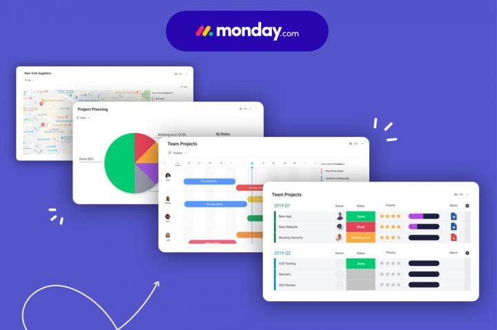 Monday.com, logiciel CRM